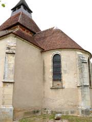 Eglise Saint-Julien - Français:   Osmery - Eglise Saint-Julien - Chevet