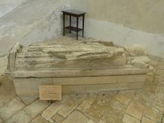 Abbaye Saint-Martin de Plaimpied - Français:   Gisant de Richard II