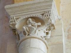 Abbaye Saint-Martin de Plaimpied - Français:   Tentation du Christ