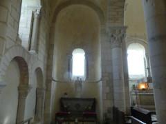 Abbaye Saint-Martin de Plaimpied - Français:   Choeur