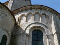 Abbaye Saint-Martin de Plaimpied - Français:   chevet