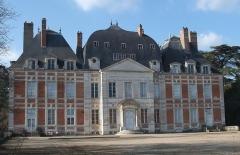 Château de Lagrange-Montalivet - English: South facade of the castle Montalivet-Lagrange in the department of Cher, France.