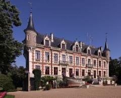 Château - Deutsch: Schloss Saint-Florent-sur-Cher, Rathaus der Stadt Saint-Florent-sur-Cher im französischen Département Cher