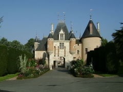 Château - English: Saint-Florent-sur-Cher (France) City Hall entrance building