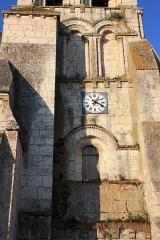 Eglise Sainte-Solange - Français:   Sainte-Solange - Eglise Sainte-Solange Détail du clocher