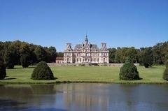 Château de Baronville - English: Chateau de Baronville in France, near Paris Image free of rights