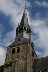 Eglise Notre-Dame - Clocher de l'église Notre-Dame - Bonneval (Eure-et-Loir - France)