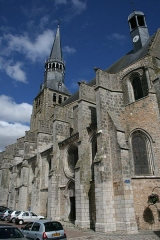 Eglise Notre-Dame - Eglise Notre-Dame - Bonneval (Eure-et-Loir - France)