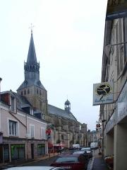 Eglise Notre-Dame - Bonneval (Eure-et-Loir , France) , l'église: