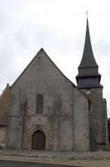 Eglise Notre-Dame - Deutsch: Katholische Pfarrkirche Notre-Dame in Bû im Département Eure-et-Loir (Centre-Val de Loire/Frankreich)