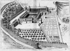 Ancienne abbaye de Saint-Père-en-Vallée, actuellement annexe du lycée Marceau - French archaeologist and historian