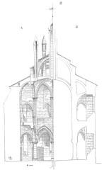 Ancienne abbaye de Saint-Père-en-Vallée, actuellement annexe du lycée Marceau -