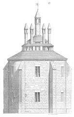 Ancien couvent des Cordeliers, actuellement lycée Marceau -