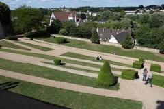 Ancien évêché et ses jardins, actuellement Musée des Beaux-Arts - English: Chartres, gardens of the Cathédrale Notre-Dame