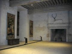 Château et ses abords - Aile Longueville du château de Châteaudun (Eure-et-Loir, France), grande salle basse
