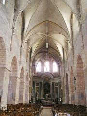 Eglise Saint-Valérien - Deutsch:   Châteaudun, Kirche St-Valerian innen