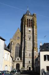 Eglise Saint-Etienne - Français:   Place de l'Étape, église Saint-Étienne, Janville, Eure-et-Loir (France).