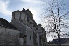 Eglise Saint-Etienne - Français:   Vue nord-est de l\'église Saint-Étienne, Janville, Eure-et-Loir (France).