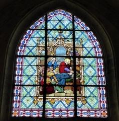 Eglise Saint-Etienne - Français:   L\'Extrême-onction, signature \