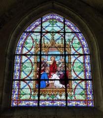 Eglise Saint-Etienne - Français:   L\'Ordre (Ordination), signature \