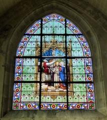 Eglise Saint-Etienne - Français:   Le Mariage, baie 013, église Saint-Étienne, Janville, Eure-et-Loir (France).