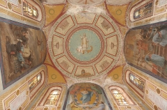 Eglise Saint-Lucain - Français:   La chapelle mortuaire de l\'église de Loigny-la-Bataille