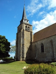 Eglise Saint-Pierre - English: The church of Lutz-en-Dunois, Eure-et-Loir, France.