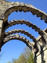 Ancien aqueduc de Pontgouin à Versailles (également sur communes de Berchères-Saint-Germain et Pontgouin) - Français:   Vue sur les ruines de l\'aqueduc de Maintenon