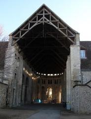 Ancienne abbaye Saint-Denis - English: The church of former Saint-Denis abbey, in Nogent-le-Rotrou, Eure-et-Loir, France.