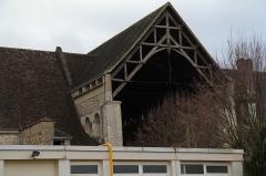 Ancienne abbaye Saint-Denis - English: The church of former Saint-Denis abbey, seen from St. Denis street, in Nogent-le-Rotrou, Eure-et-Loir, France.