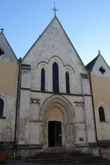 Eglise Notre-Dame - English: Notre-Dame Roman catholic church, in Nogent-le-Rotrou, Eure-et-Loir, France.