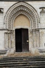 Eglise Notre-Dame - English: The gate of Notre-Dame Church, in Nogent-le-Rotrou, Eure-et-Loir, France.