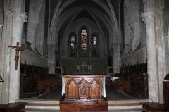 Eglise Notre-Dame - English: The choir of Notre-Dame Church, in Nogent-le-Rotrou, Eure-et-Loir, France.