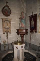 Eglise Notre-Dame - English: A baptismal font inside Notre-Dame Church, in Nogent-le-Rotrou, Eure-et-Loir, France.