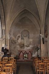 Eglise Notre-Dame - English: The Sacred Heart altar, inside Notre-Dame Church, in Nogent-le-Rotrou, Eure-et-Loir, France.