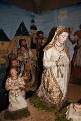Eglise Notre-Dame - English: The nativity scene (early 17th c.) inside Notre-Dame Church, in Nogent-le-Rotrou, Eure-et-Loir, France.