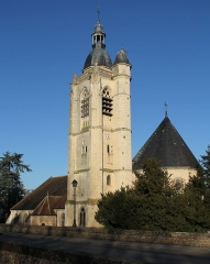 Eglise Saint-Hilaire - English: Saint-Hilaire Roman catholic church, in Nogent-le-Rotrou, Eure-et-Loir, France.