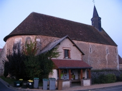 Eglise Saint-Martin - English: The church of Trizay-lès-Bonneval, Eure-et-Loir, France.
