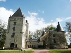 Château d'Argy - Français:   Propriété du Club du Vieux Manoir et plateforme centrale de ses formations et camps chantiers