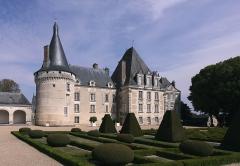 Château d'Azay-le-Ferron - Deutsch: Schloss Azay-le-Ferron im französischen Département Indre