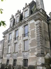Château d'Azay-le-Ferron - Français:   Château d\'Azay-le-Ferron - Pavillon Renaissance côté village