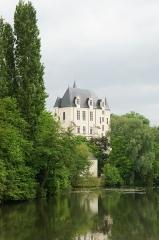 Château Raoul - Français:   Le Château Raoul à Châteauroux vu de la rue des ponts.