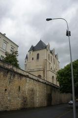 Château Raoul - Français:   Le Château Raoul à Châteauroux vu depuis la rue du château Raoul