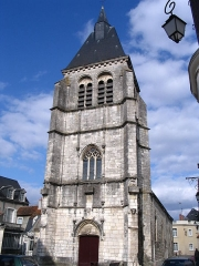 Eglise Saint-Martial - English: St.Martial's church, in Châteauroux, Indre, France.