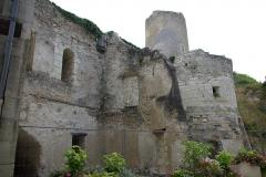 Ensemble castral - Français:   Porte Nord du château de Châtillon-sur-Indre (Indre, France)