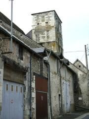 Ensemble castral - Français:   Châtillon-sur-Indre - Château - Tour de la Prison