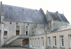Ensemble castral - Français:   Châtillon-sur-Indre - Château - Logis construit au XVème siècle et chapelle castrale