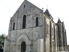 Eglise Notre-Dame - Châtillon-sur-Indre - Eglise Notre-Dame - Façade occidentale