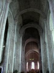 Eglise Notre-Dame - Châtillon-sur-Indre - Eglise Notre-Dame - Nef centrale