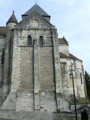 Eglise Notre-Dame - Châtillon-sur-Indre - Eglise Notre-Dame - Bras Sud du transept et chevet